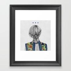 Strands II Framed Art Print