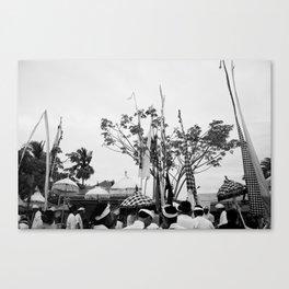 Nyepi Canvas Print