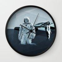 interstellar Wall Clocks featuring Interstellar by ANDRESZEN