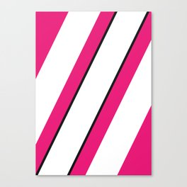 Geometric Calendar - Day 38 Canvas Print