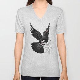 Black Dove (Black Lives Matter Fundraiser) Unisex V-Neck