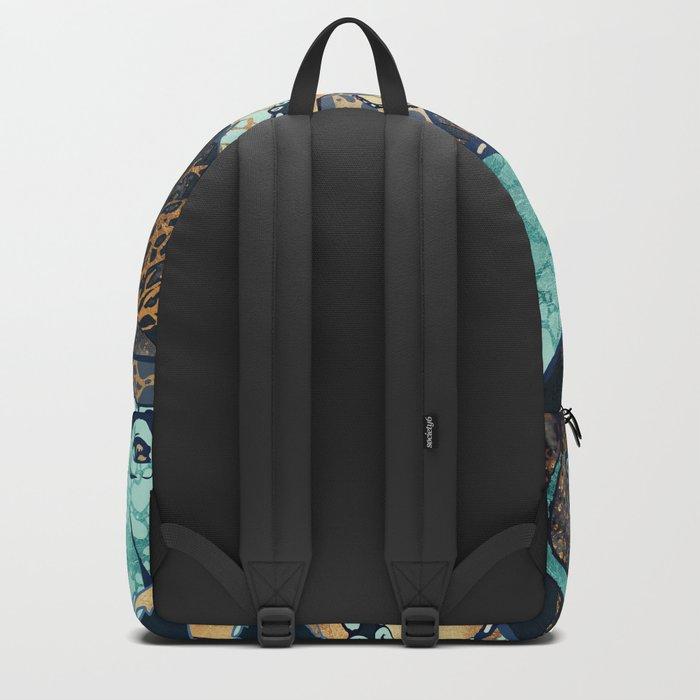 Metallic Octopus II Backpack
