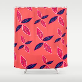 Lots of leaves - Art print Shower Curtain