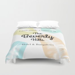 The Beverly Hills Hotel Leaf Duvet Cover