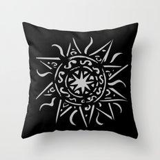 Celtic sun Throw Pillow