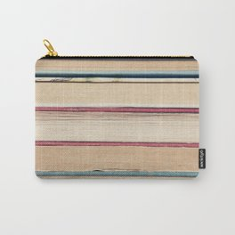you cannot open a book without learning something Carry-All Pouch