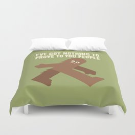 Surefooted Duvet Cover