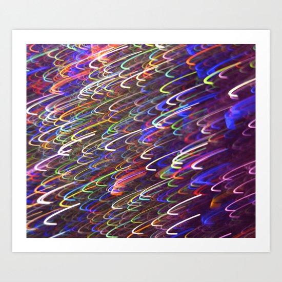 Glitter 4515 Art Print