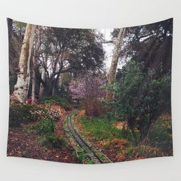 Tracks Wall Tapestry