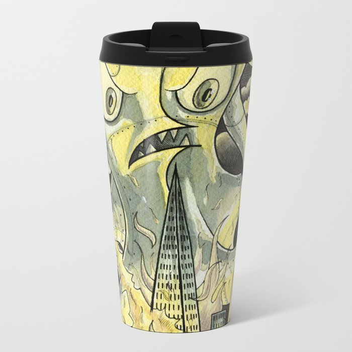 Steamechanical Octopus Travel Mug