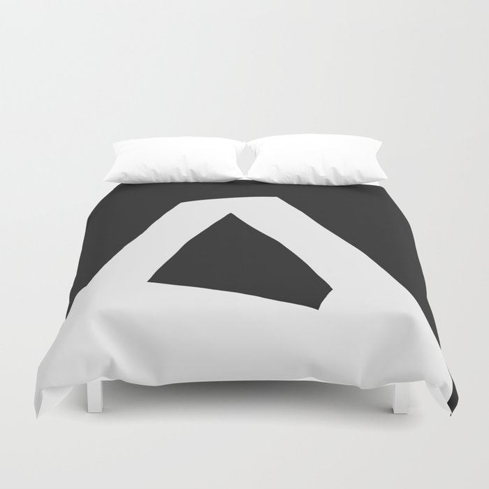 """A"" Statement Duvet Cover"
