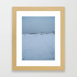 superficial zero  Framed Art Print