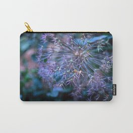 purple alliums Carry-All Pouch