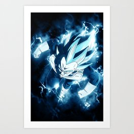 Goku Vegeta Dragon Ball Art Print