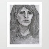 Potrait of a Woman Art Print