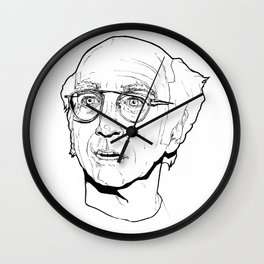 Curb your Larry David Wall Clock