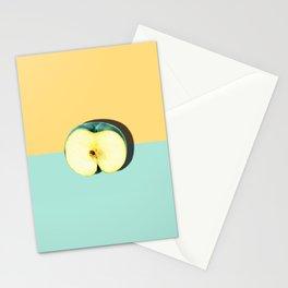 Tropical Fruit. Apple Half Slice Stationery Cards