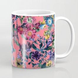 Surreal Floral Coffee Mug