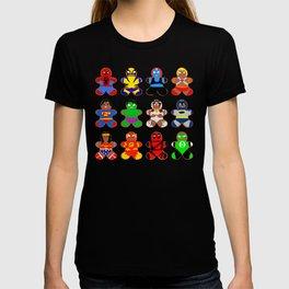 Superhero Gingerbread Man T-shirt