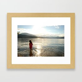 Every Child Needs a Place of Beauty Framed Art Print