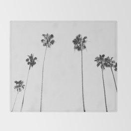 Black & White Palms Decke