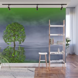 there was a tree -03- Wall Mural