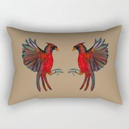 Cardinals V.2  Rectangular Pillow