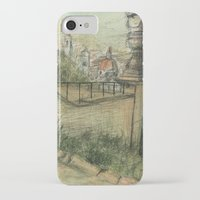 italian iPhone & iPod Cases featuring Italian Garden by Emily Dwan