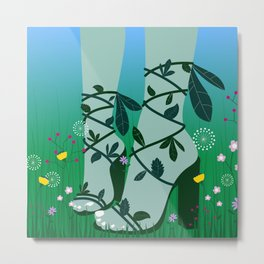 Bloom Where You Are Planted III Metal Print