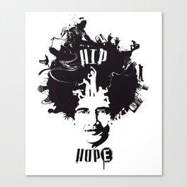 HIP HOPE Canvas Print