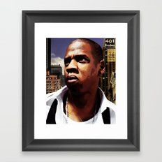 King of New York? Framed Art Print