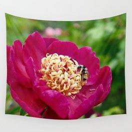 Bloom 'n Bee Wall Tapestry