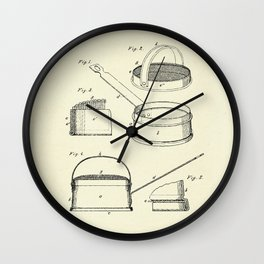 Coffee Roaster-1883 Wall Clock