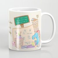 study Mugs featuring Study by ItsFahmi