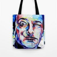 dreamer Tote Bags featuring Dreamer by KlarEm