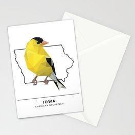 Iowa – American Goldfinch Stationery Cards