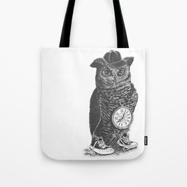 Owl Skool Tote Bag
