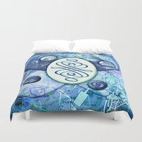 melissa smith Duvet Covers featuring Melissa (#TheAccessoriesSeries) by Wayne Edson Bryan