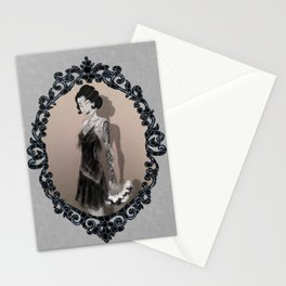 If Flappers Wore Ink Stationery Cards
