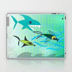 Fish Tale Laptop & iPad Skin