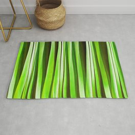 Tropical Green Riverweed Rug