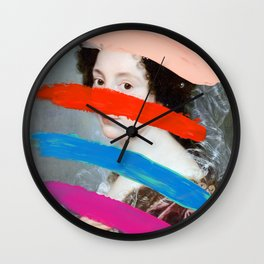 Composition 715 Wall Clock