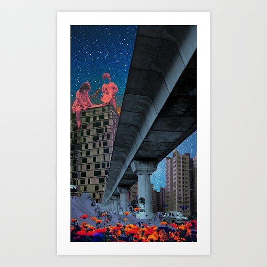 the built environment Art Print