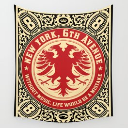 Without Music Wall Tapestry