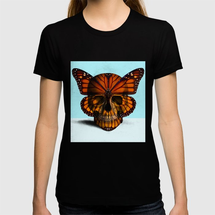 SKULL (MONARCH BUTTERFLY) T-shirt