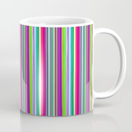 Colour line stripes 555 Coffee Mug
