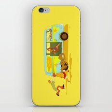 Little Mystery Machine iPhone & iPod Skin