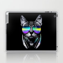 Dj Cat Laptop & iPad Skin