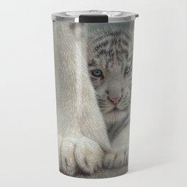 White Tiger Cub - Sheltered Travel Mug