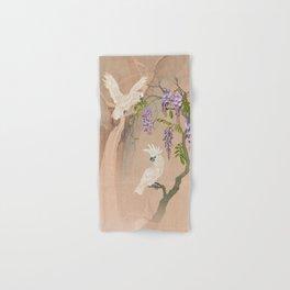 Cockatoos and Wisteria Hand & Bath Towel